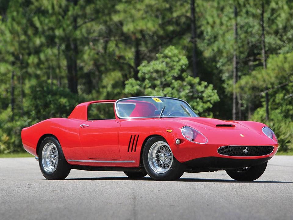 1961 Ferrari 250 GT N.A.R.T. Spider by Fantuzzi 1