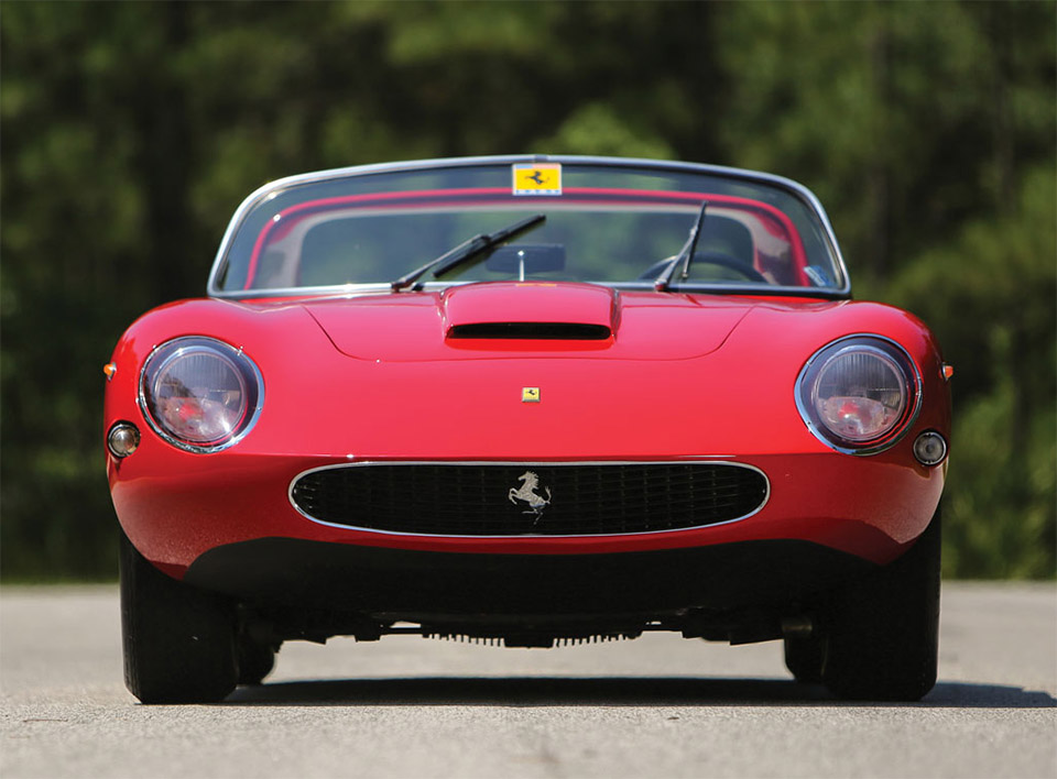 1961 Ferrari 250 GT N.A.R.T. Spider by Fantuzzi 6