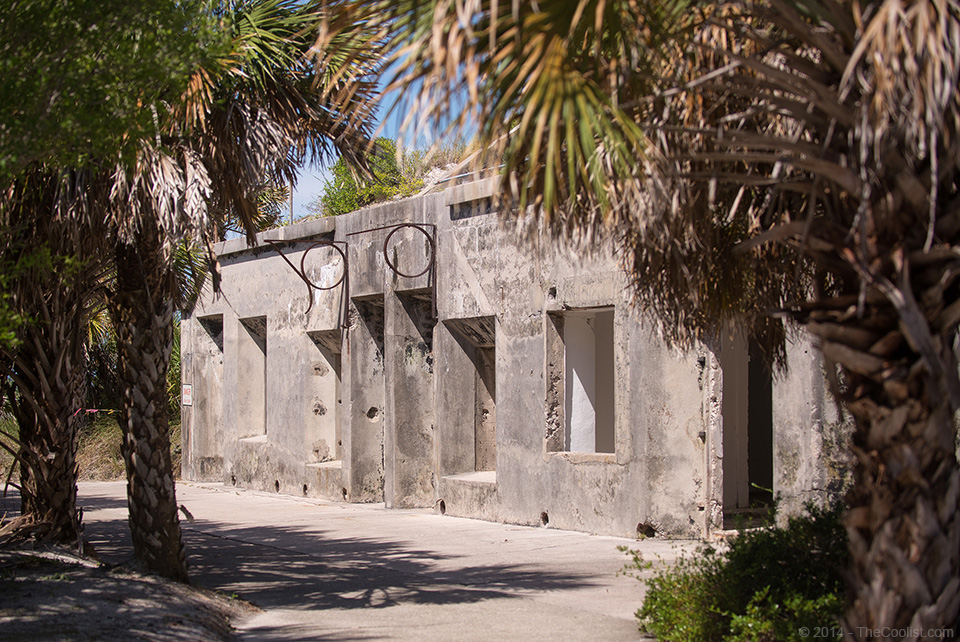 Abandoned Beach Forts of Florida - Battery View