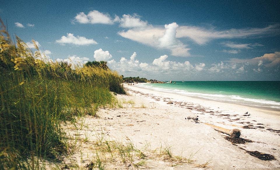Abandoned Beach Forts of Florida - Egmont Key Beach
