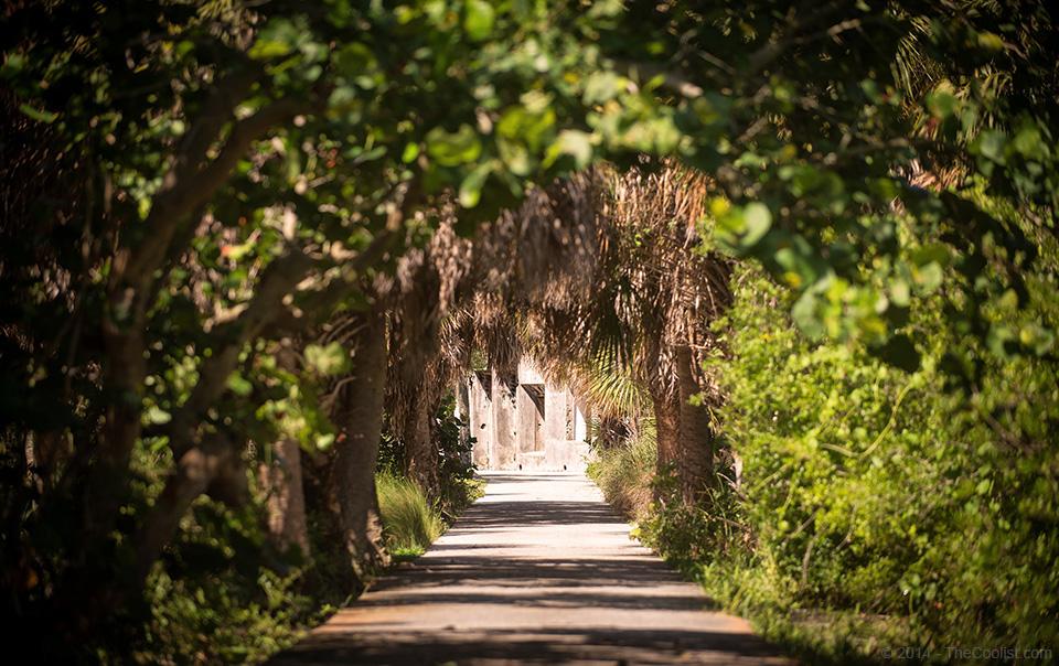 Abandoned Beach Forts of Florida – Egmont-Key—Tunnel