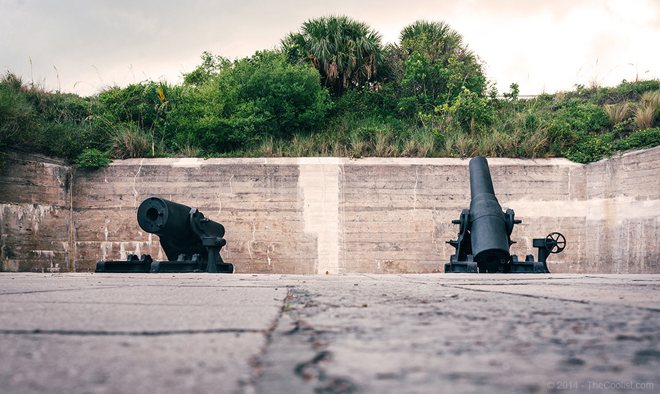 Abandoned Beach Forts of Florida - Fort DeSoto Battery