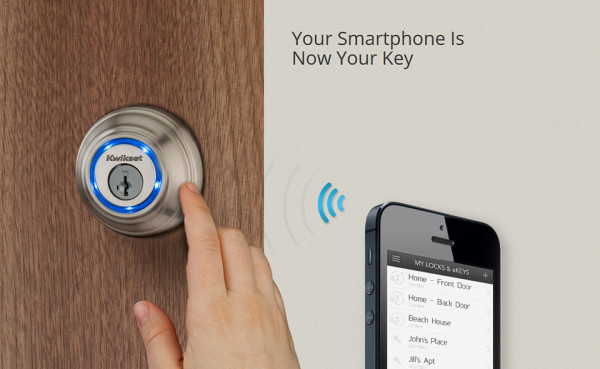 Best Smart Locks - Kwikset Kevo Smart Lock