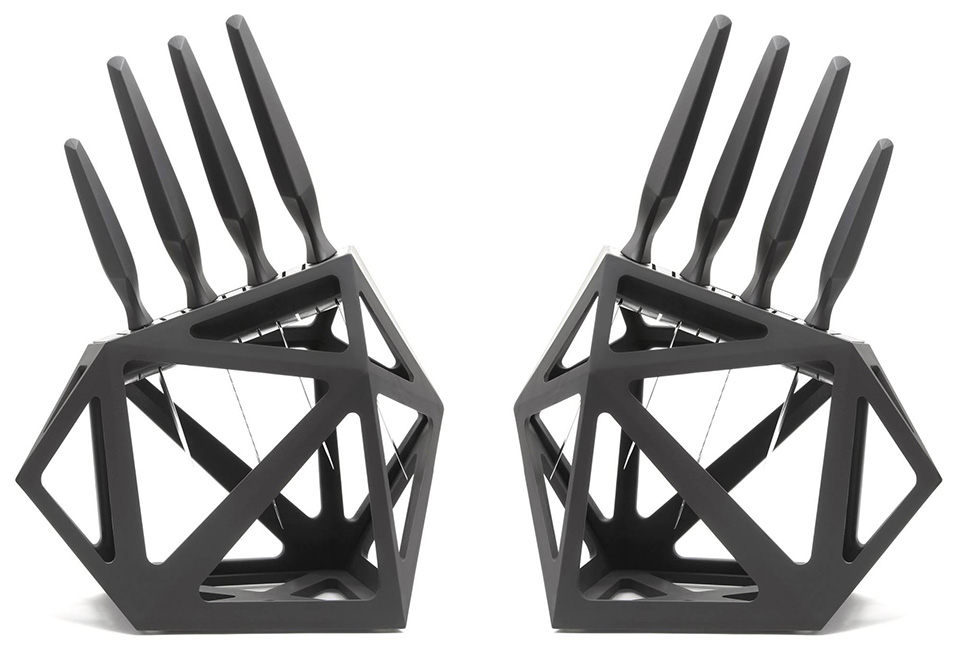 Black Diamond Knife Block And Precision