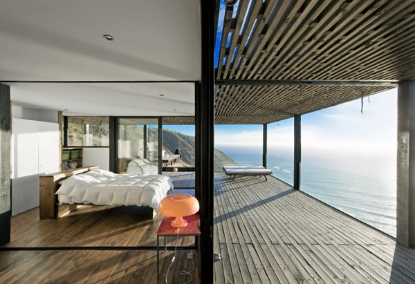 Chilean Beach Pavilion by WMR Arquitectos 11 600x411 Chilean Beach Pavilion House is a Private Pacific Escape