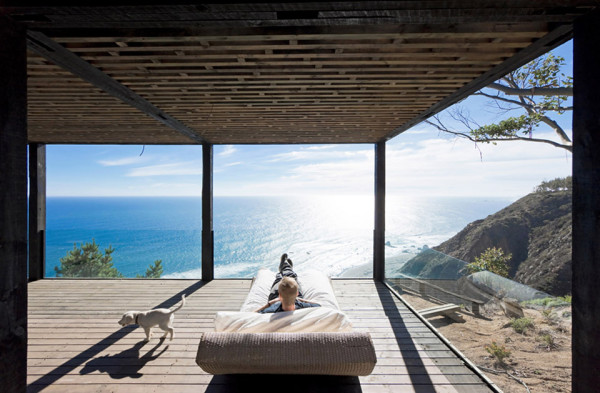 Chilean Beach Pavilion by WMR Arquitectos 4 600x393 Chilean Beach Pavilion House is a Private Pacific Escape