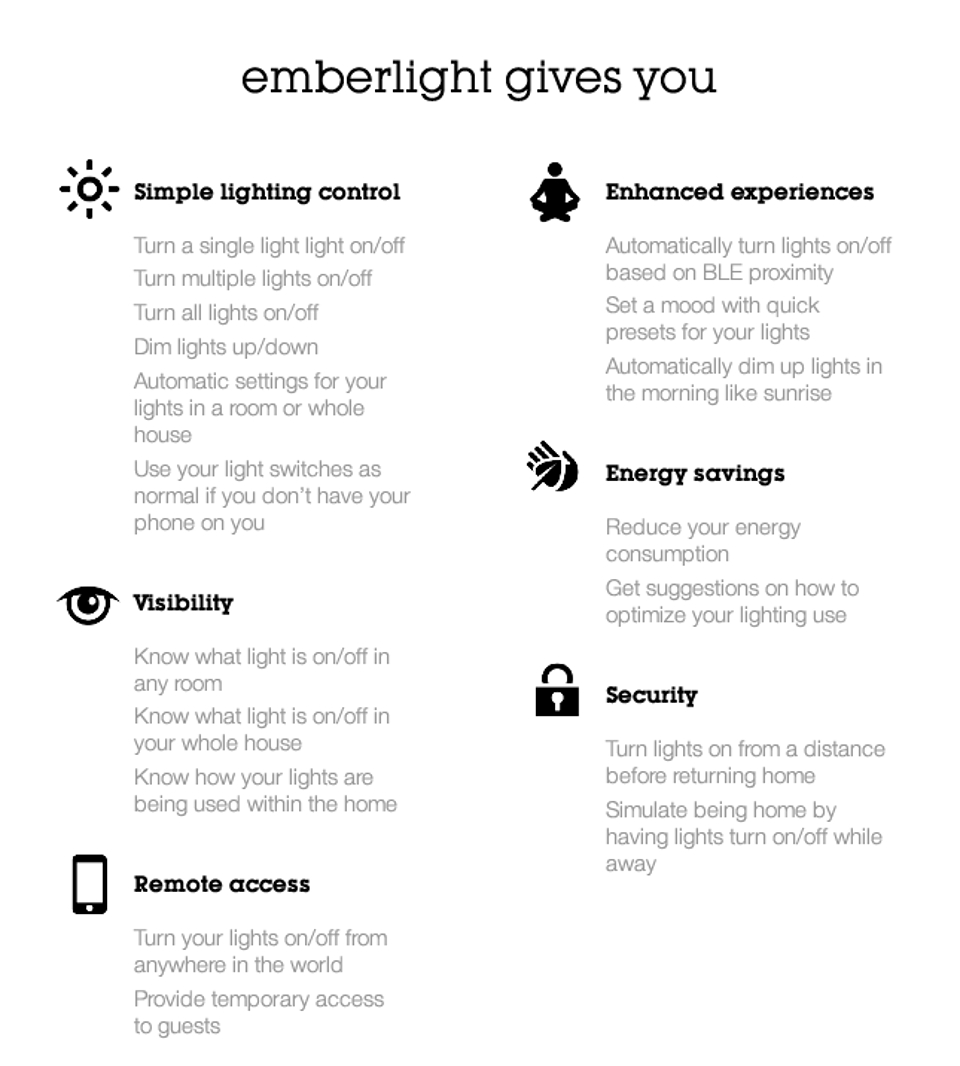 Emberlight Gives You