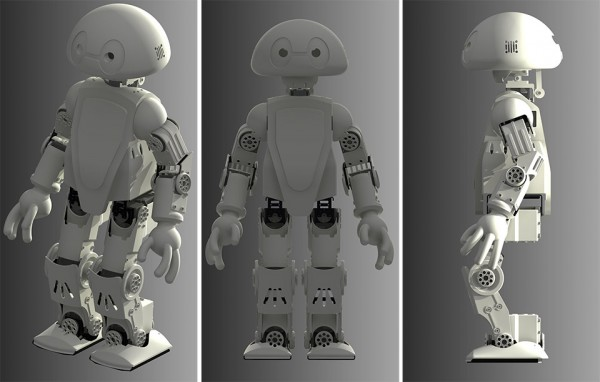 Humanoid Robots - 3D Printed Robot Jimmy