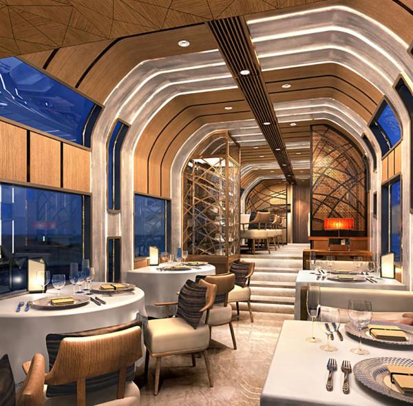 Luxury Cruise Trains coming to Japan 4 600x589 Ferrari Designers Luxury Cruise Trains Coming to Japan