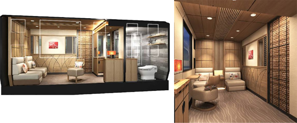 Luxury Cruise Trains coming to Japan 6