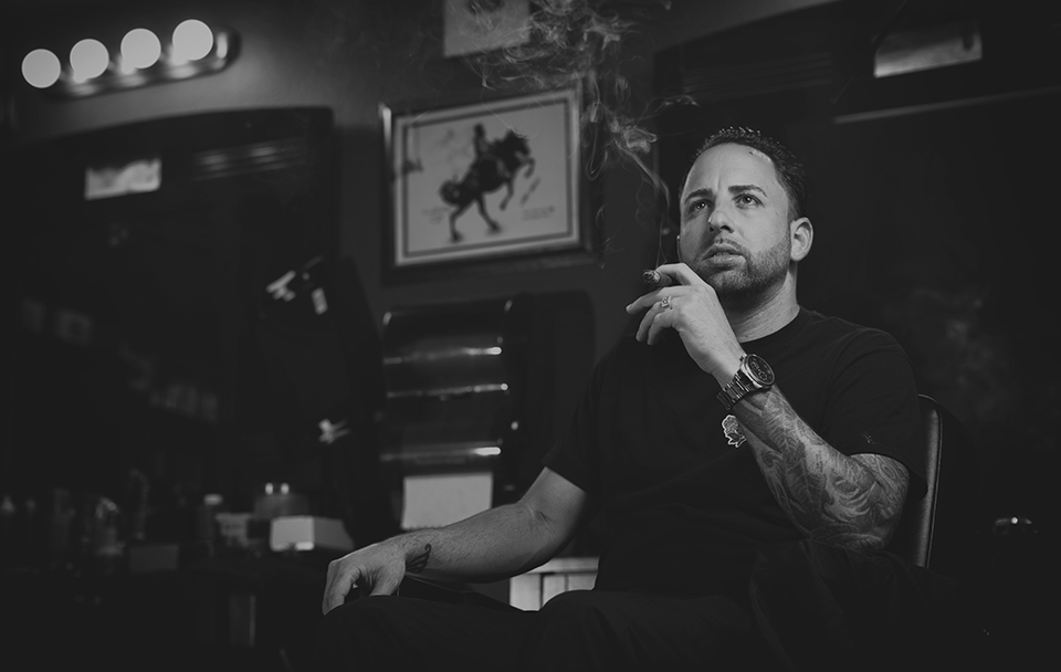 Man Cave Tampa Darren Alvarez portrait Why Every Man Needs a Good Barber Shop: Craft, Community and Conversation