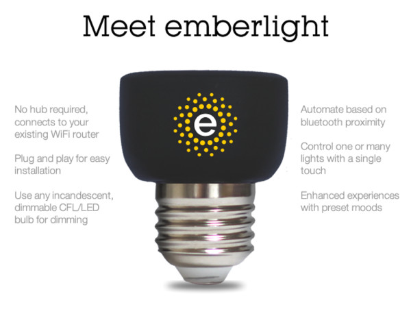 Meet Emberlight 600x464 Emberlight Turns Dumb Bulbs Into Smart Lights