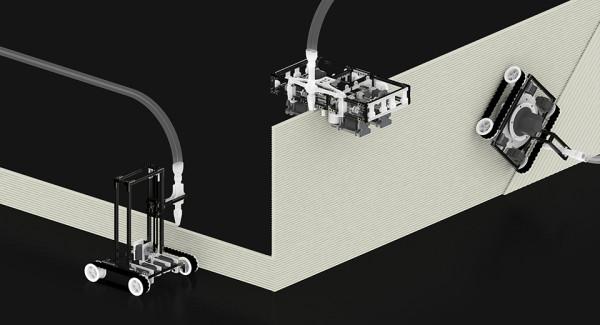 strange 3d printed objects - 3D printer builder robots