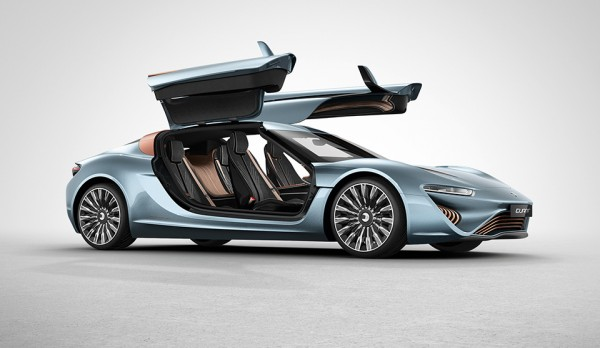 QUANT E Sportlimousine 2 600x348 QUANT E Sportlimousine is a Salt Water Powered Supercar