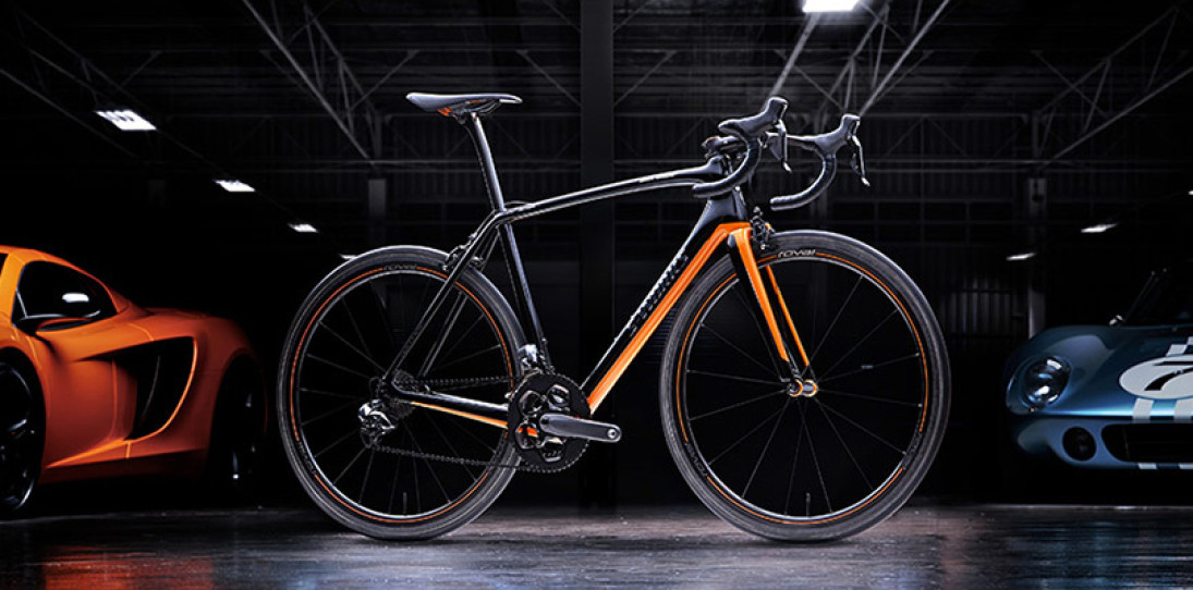 Specialized McLaren Tarmac Bicycle hero