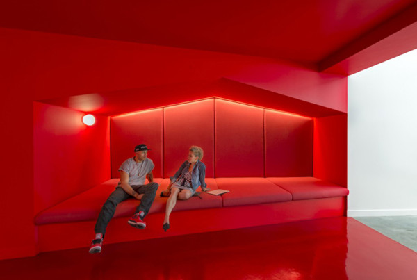 beats by dre bestor architecture 9 600x403 Beats by Dre Headquarters Gets Colorful Design in Los Angeles