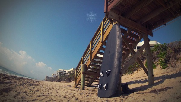 strange 3d printed objects - smartboard 3d printed surf board