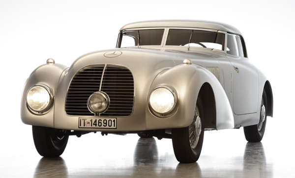 1938 Mercedes-Benz 540 K Streamliner 1
