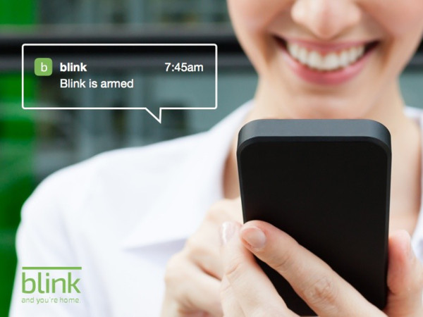 Blink Is Armed 600x450 Blink HD Home Monitor is Home Security on the Go