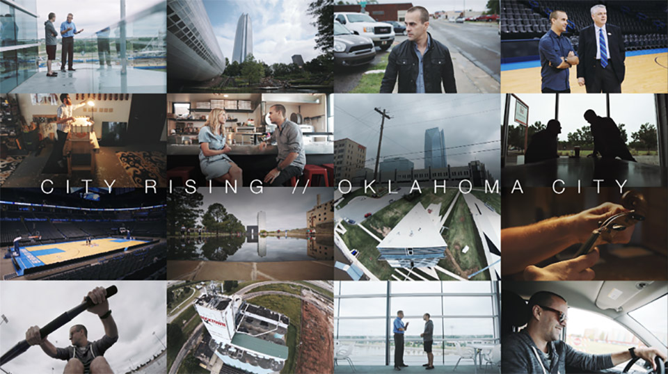 City Rising OKC Poster by Ben Bradley Oklahoma City Documentary: City Rising OKC   A Hidden Gem of American Cool