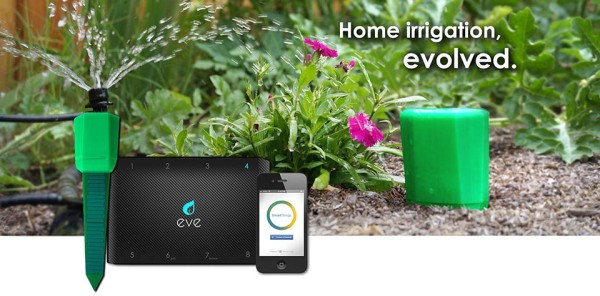 Eve Smart Garden Irrigation System 1 600x296 Eve Smart Garden Irrigation System Masters Your Yard