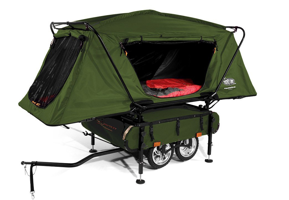 Kamp-Rite Midget Bushtrekka Bicycle Tent Trailer
