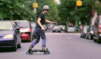 Leif Electric Street Snowboard 2