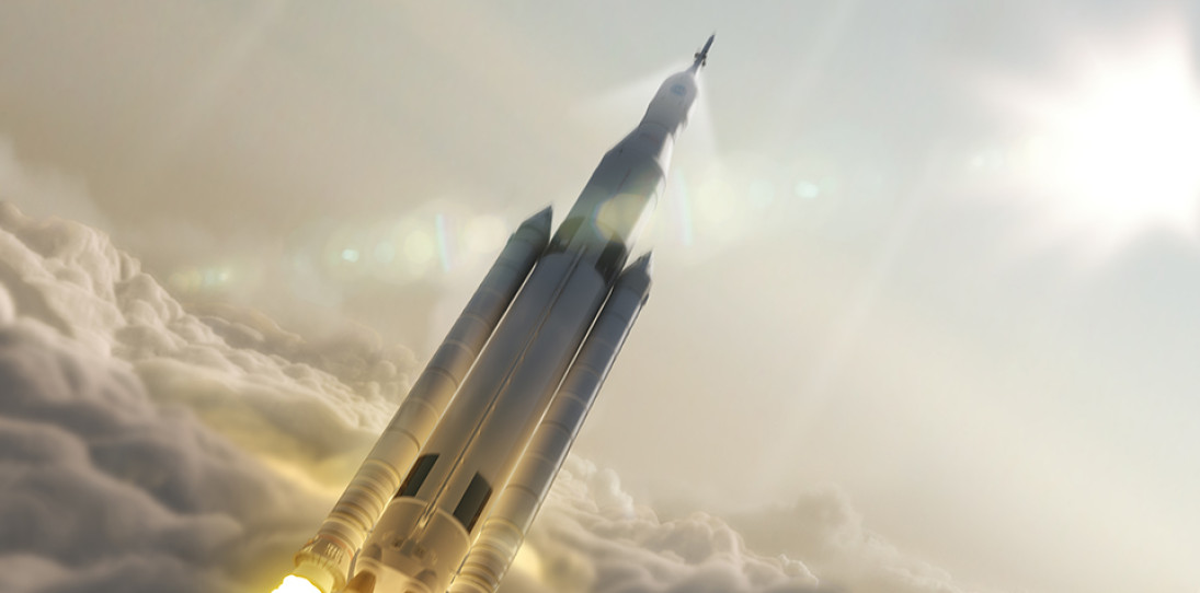 NASA Space Launch System Rocket 1