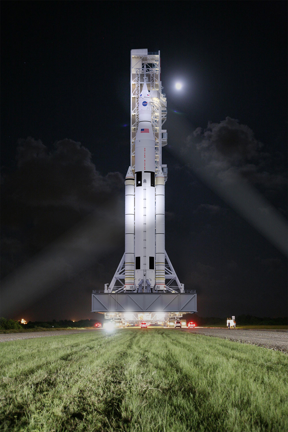 NASA Space Launch System Rocket 2