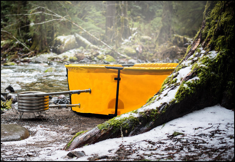 Nomad Collapsible Hot Tub 1