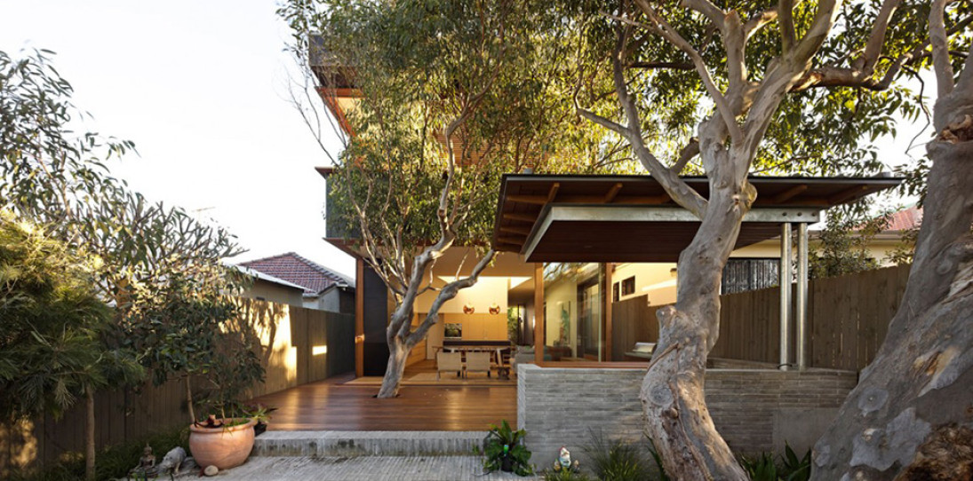 Plywood House II by Andrew Burges Architects 2