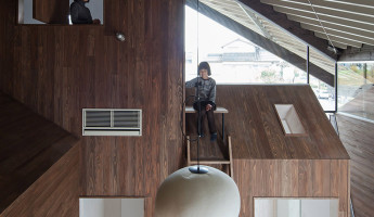Rain Shelter House by Y+M Japan 1