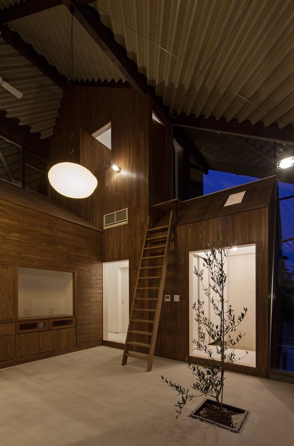 Rain Shelter House by Y+M Japan 14