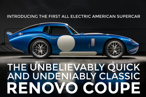 Renovo Coupe Electric Vehicle Supercar 2 600x400 The Sexy Renovo Coupe Electric Supercar is an Instant Classic