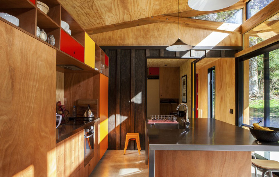 Big Living In Mid Century Modern Home In New Zealand
