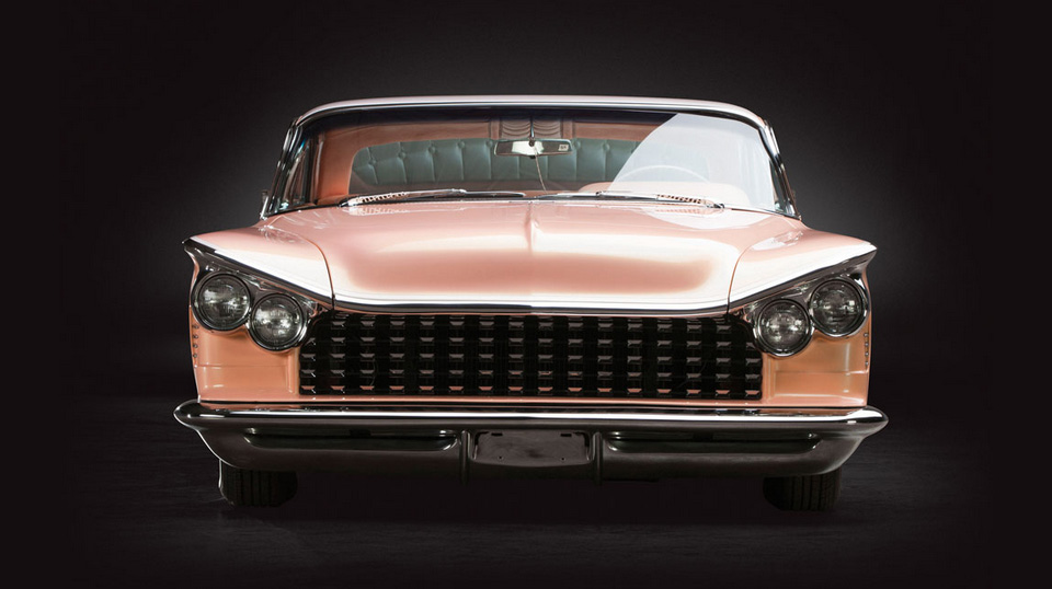 1959 Buick Invicta Hardtop Coupe Peaches and Cream 5