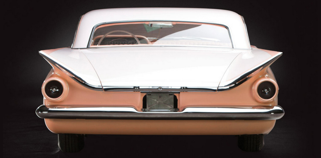 1959 Buick Invicta Hardtop Coupe Peaches and Cream 6