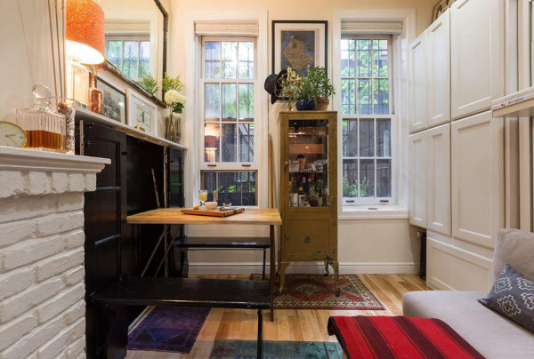 242 Sq Ft NYC Apartment Tiny NYC Apartment 12