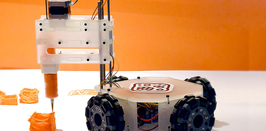3&DBot Robotic 3D Printer