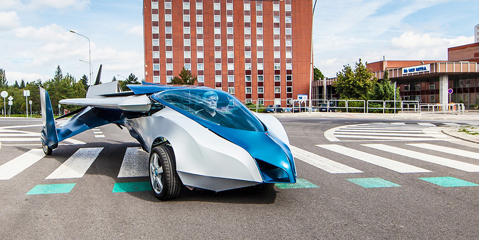 Aeromobil Flying Car 1