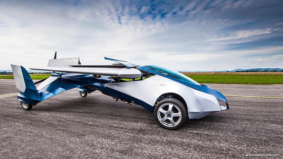 Aeromobil Flying Car 3