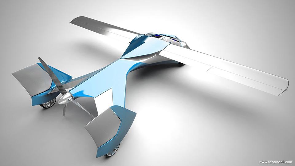 Aeromobil Flying Car 7