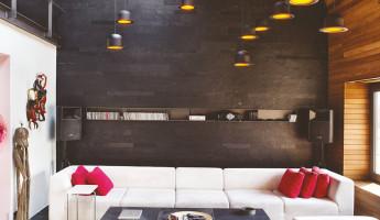 Contemporary-Rustic Karakoy Loft Overlooks Modern Istanbul 3