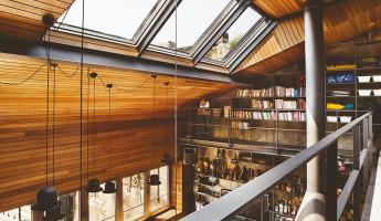 Contemporary-Rustic Karakoy Loft Overlooks Modern Istanbul 7