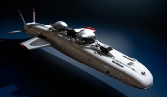 Deepflight Submarine Super Falcon Mark II for the Bond Villain in You 2