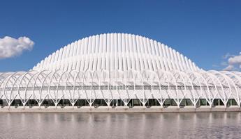 Florida Polytechnic University by Santiago Calatrava - daytime