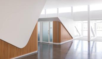 Florida Polytechnic University by Santiago Calatrava - faculty wing