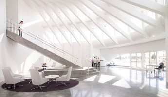 Florida Polytechnic University by Santiago Calatrava - north entrance
