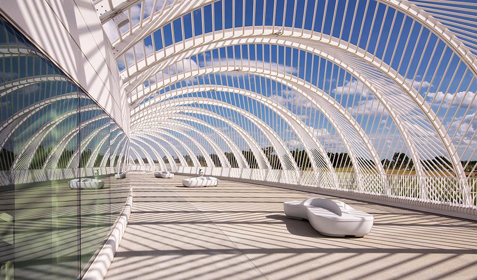 Florida Polytechnic University by Santiago Calatrava - Terrace