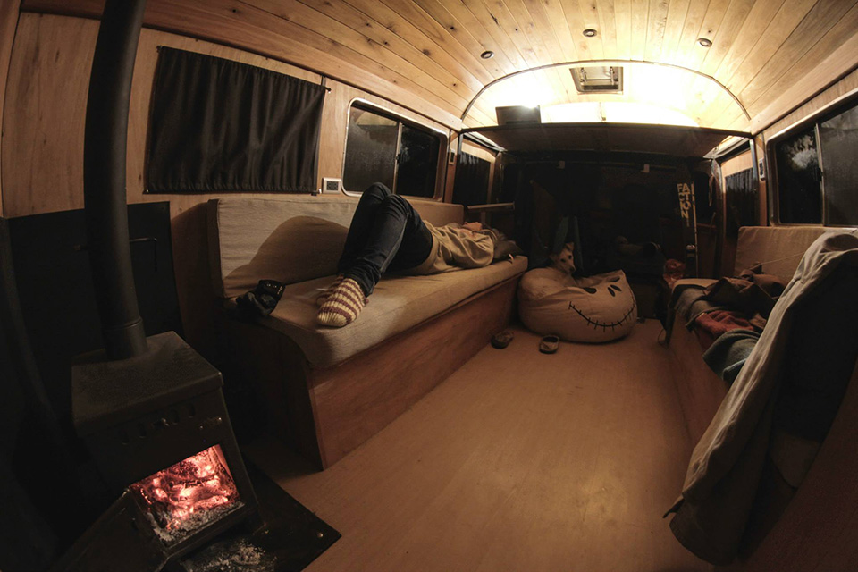 La Chanchita Restored Bus Boutique Hotel Camper 3